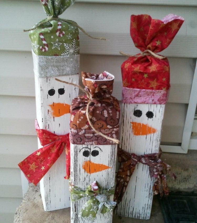 estilo escandinavo decoracion navidad madera ideas exterior ideas