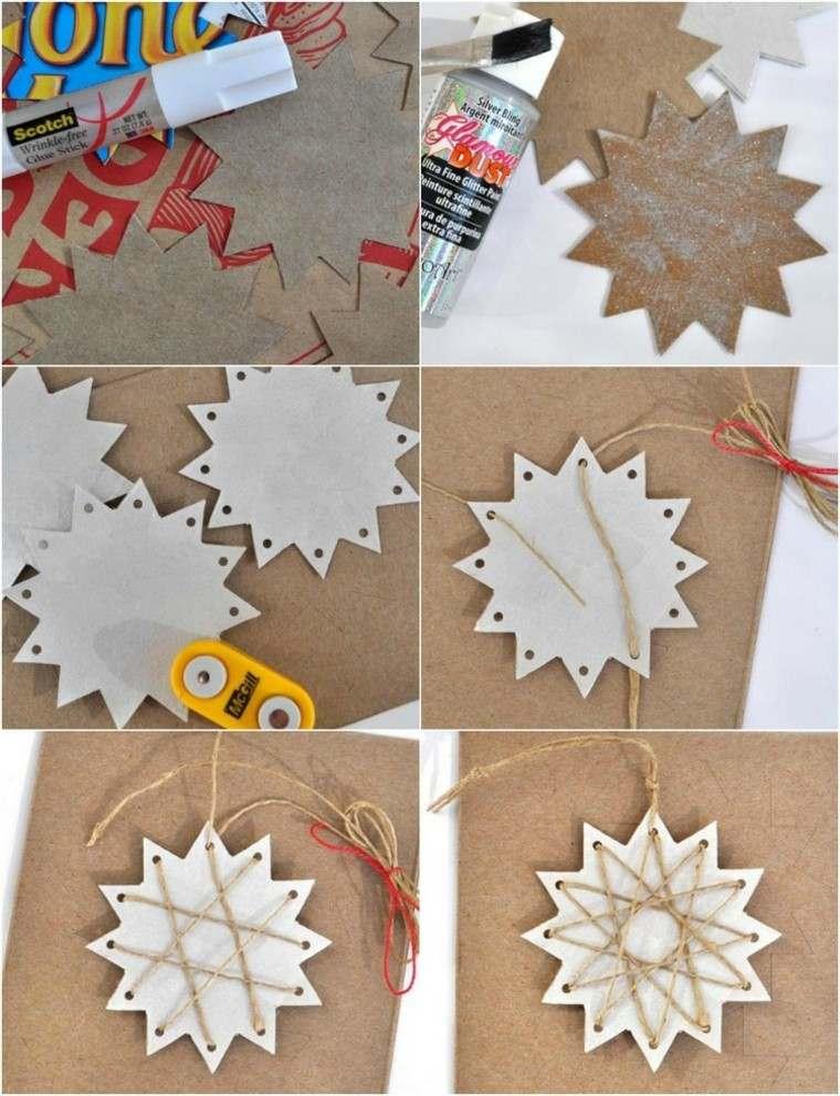 manualidades con papel pegamento letras rojas