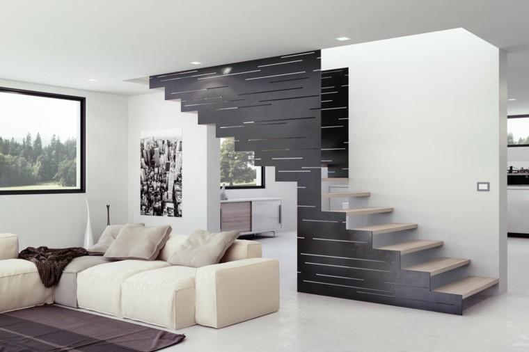 estupendo diseño escaleras madera
