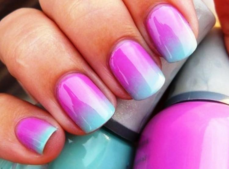 estupenda mezcla colores vivos difuminados