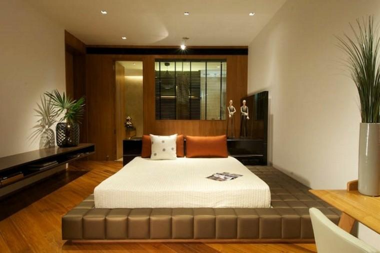 estupendo diseño dormitorio moderno madera