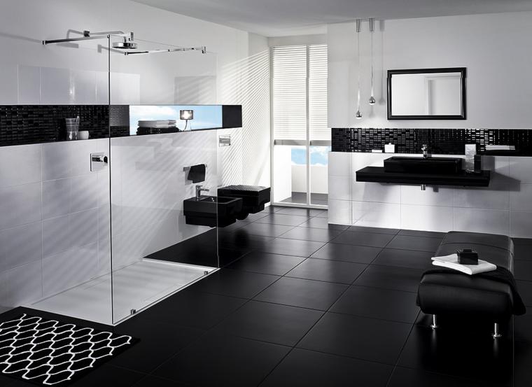 estupendo diseño color blanco negro