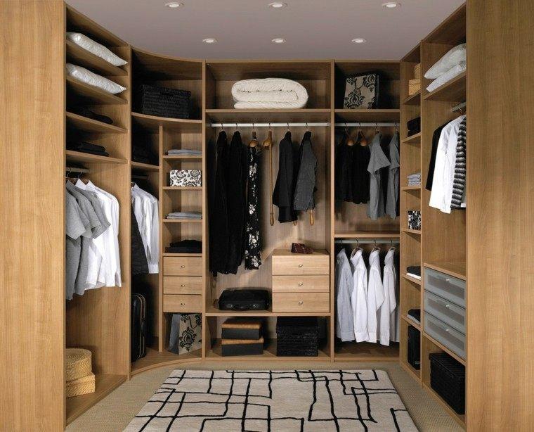 estupendo vestidor moderno madera laminada