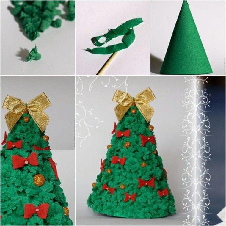 estupendos diseños arbolitos carton verdes
