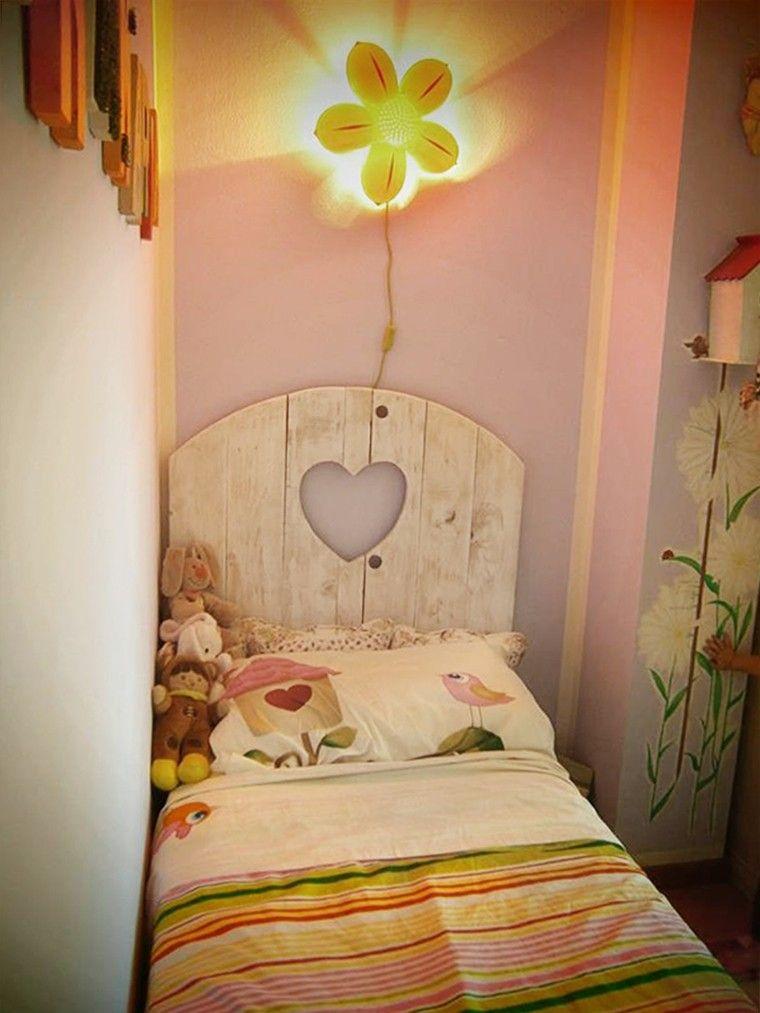 estupoendo diseño cabecero cama infantil
