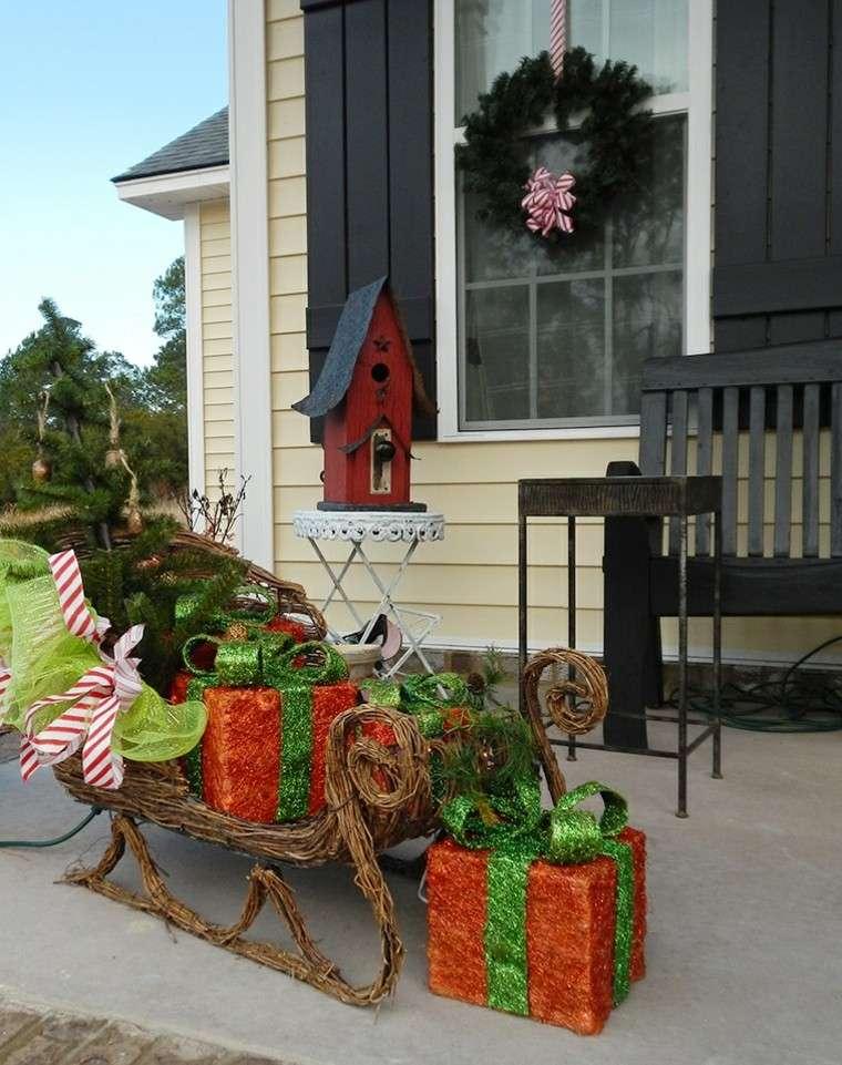 Adornos de navidad ideas incre bles para ventanas for Decoracion exterior navidena