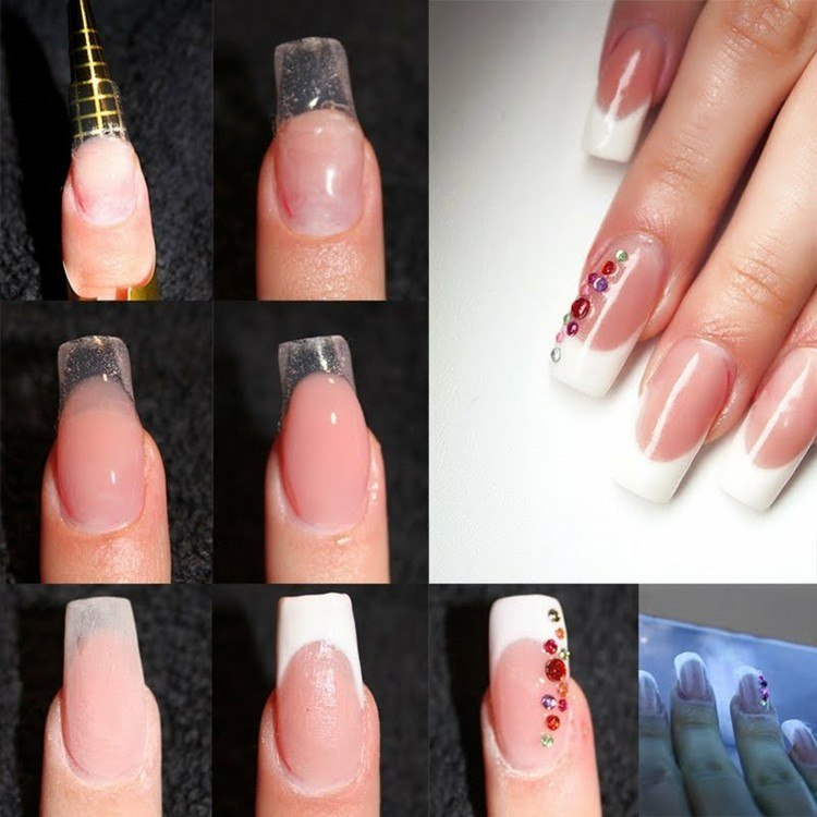 formas de uñas manicura modernas