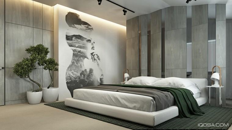 foto quince dormitorio color gris