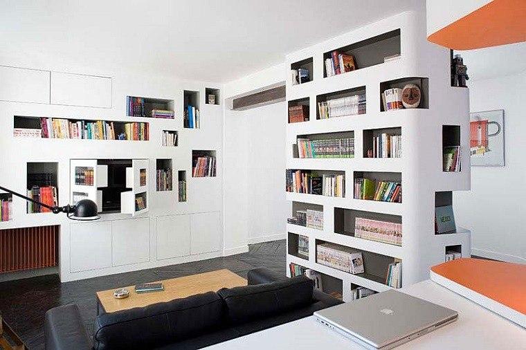 fotos originales salones pequenos sofa cuero ideas