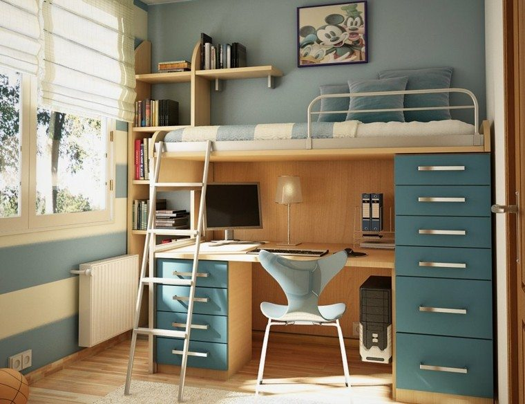 funcional mueble variante diseño litera
