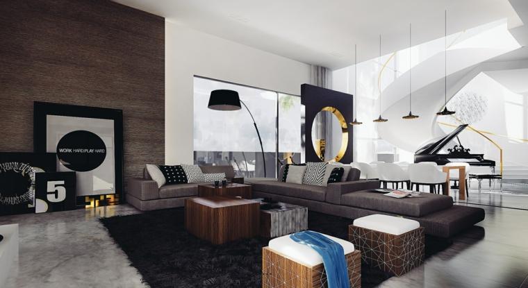 geometrico tema salon estilo diseño