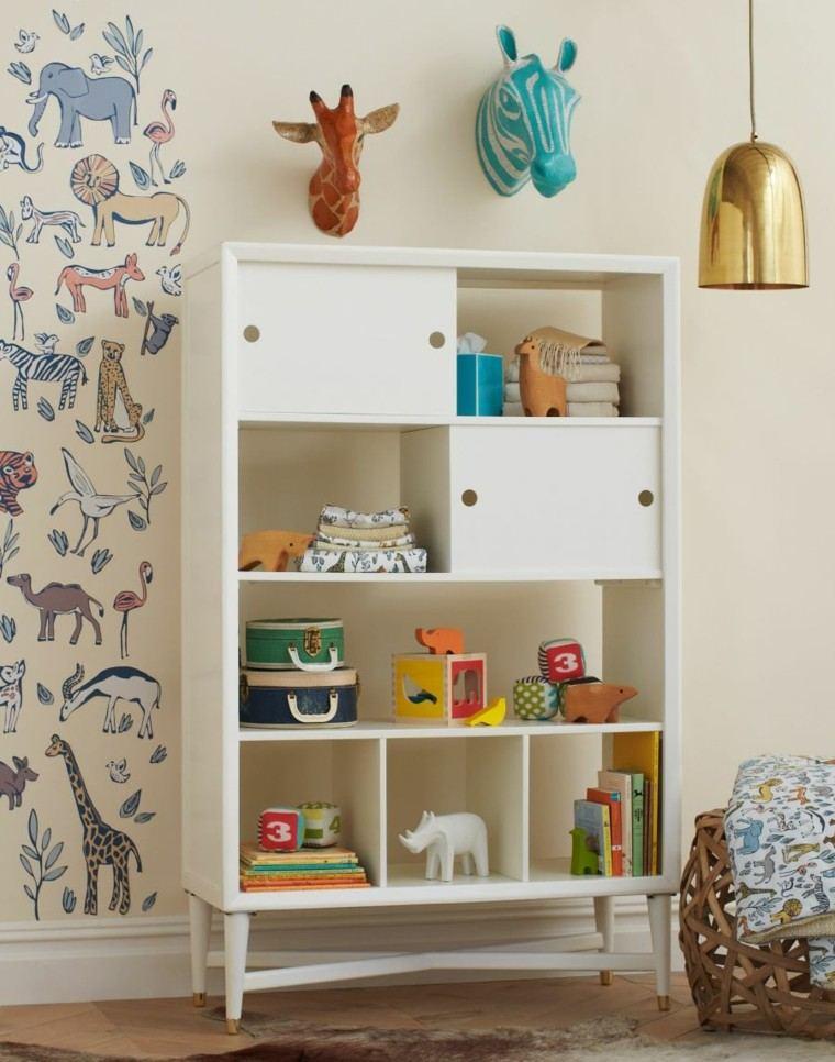 Mobiliario infantil 25 ideas para los m s peque os - Estantes para juguetes ...