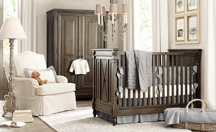 habitacion bebe mueble bebe chico cesto ideas