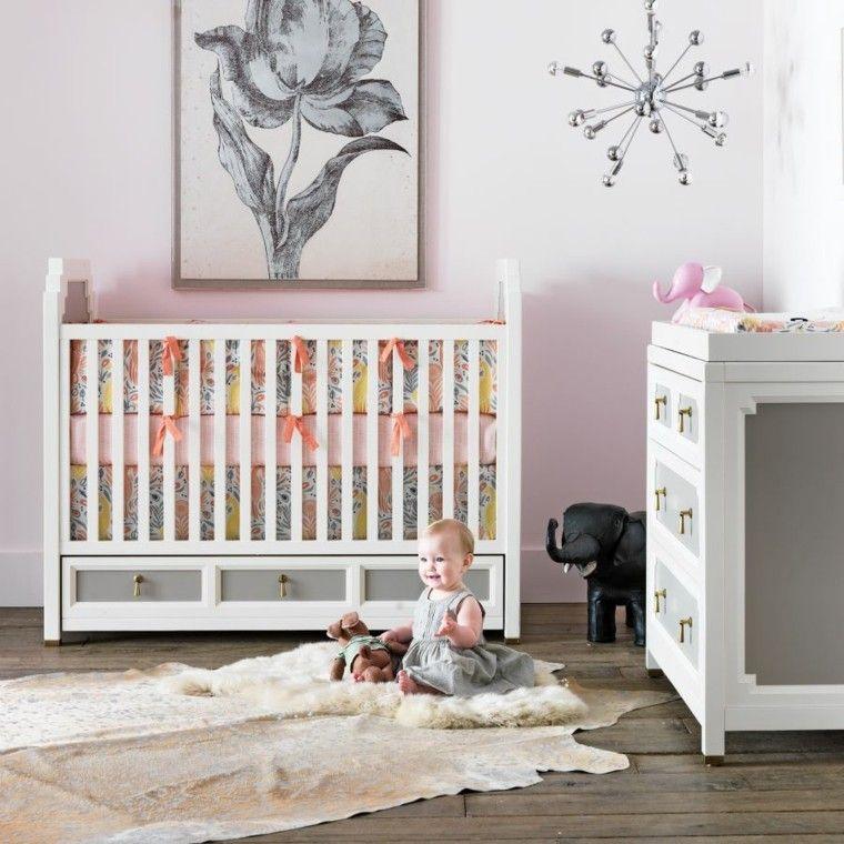 habitacion bebe mueble cuna lazos preciosos ideas