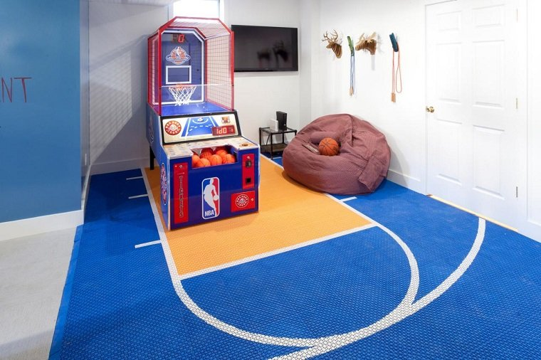 Entretenimiento para los ni os ideas para juegos en casa - Habitaciones de juego infantiles ...