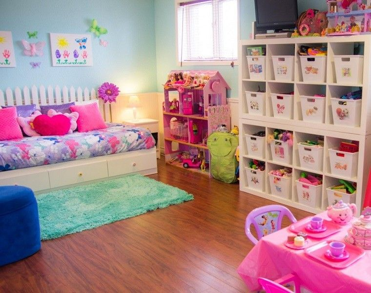 7 Inspiring Kid Room Color Options For Your Little Ones: Entretenimiento Para Los Niños Ideas Para Juegos En Casa