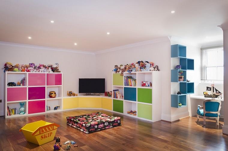 Entretenimiento Para Los Ninos Ideas Para Juegos En Casa - Habitaciones-juegos-para-nios