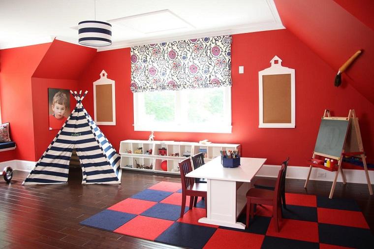 Entretenimiento para los ni os ideas para juegos en casa - Decoracion en paredes para ninos ...