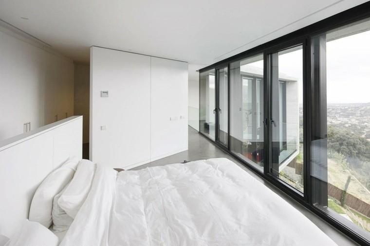 habitacion vista moderna luminosa sabanas