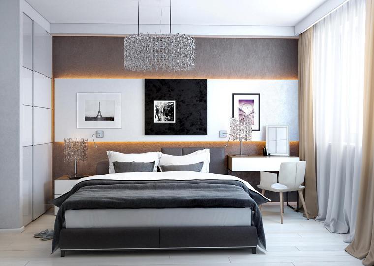 Habitaciones de matrimonio decorando tu oasis de intimidad - Lamparas de habitacion de matrimonio ...