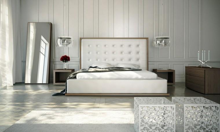 Dormitorio matrimonio gris y blanco: dormitorios de matrimonio ...