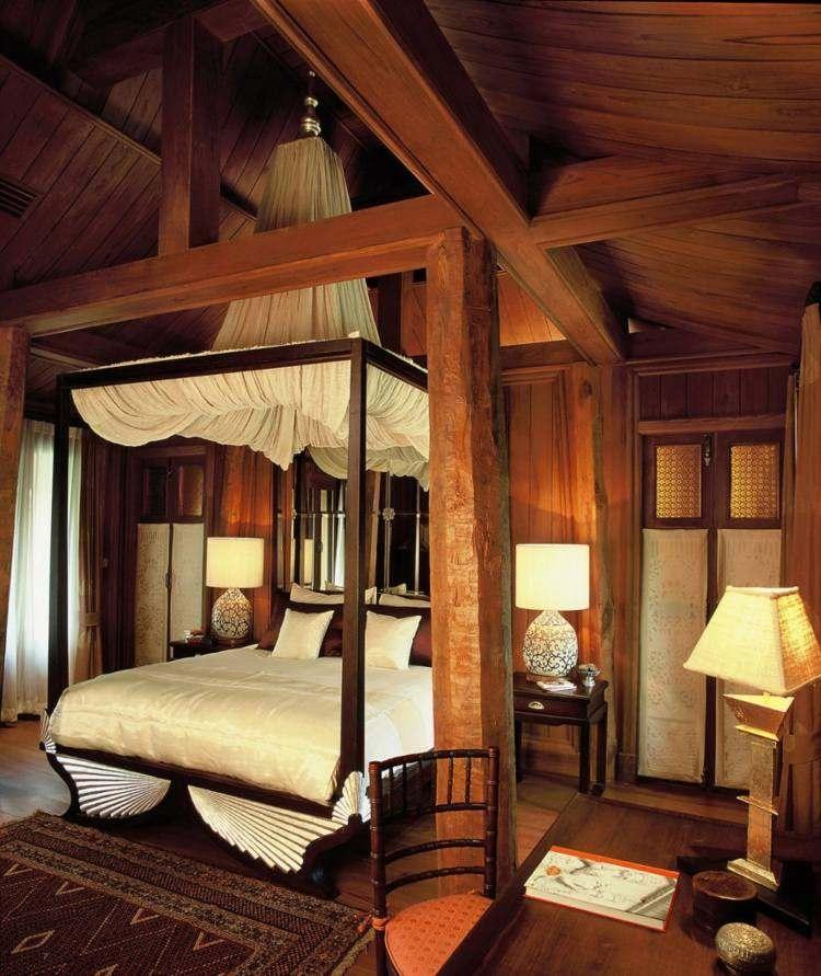habitaciones decoracion calida acogedora madera