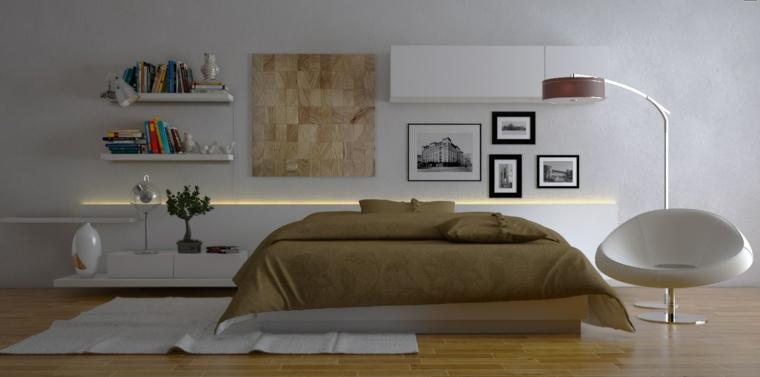 habitaciones decoracion diseño calido jarrones lampara