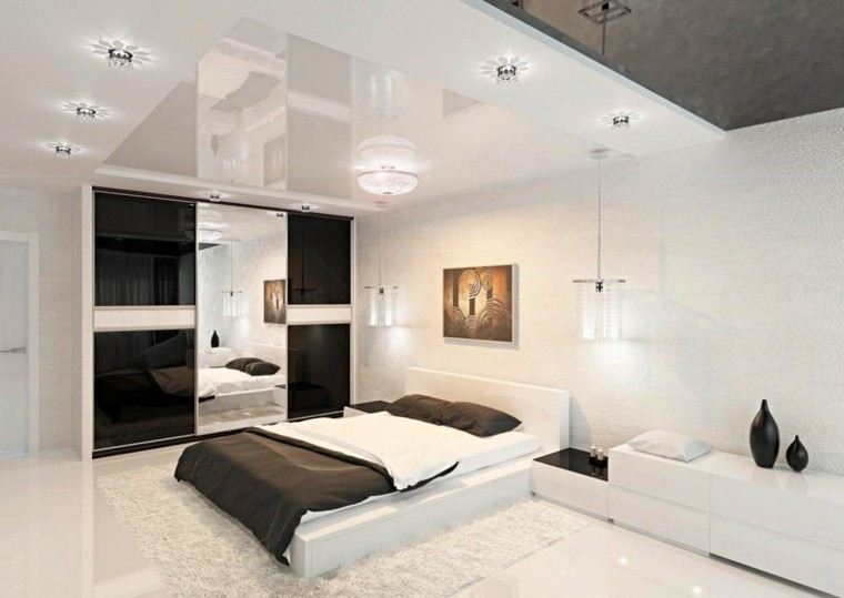 habitaciones decoracion diseño calido jarrones luces
