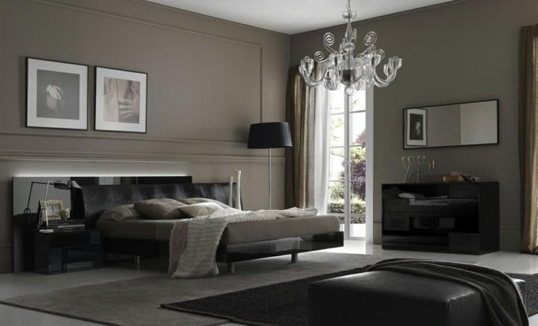 habitaciones decoracion diseño contemporanea cuadros blanco