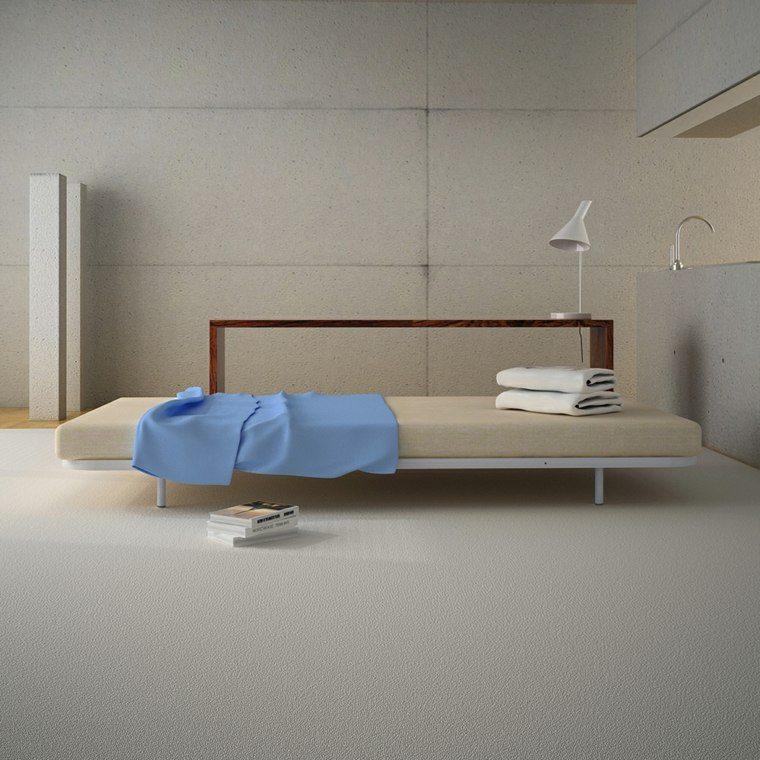 habitaciones modernas estilo minimalista
