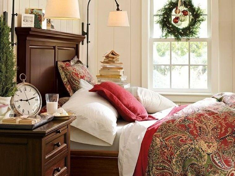 ideas casa cama decorado reloj habitacion