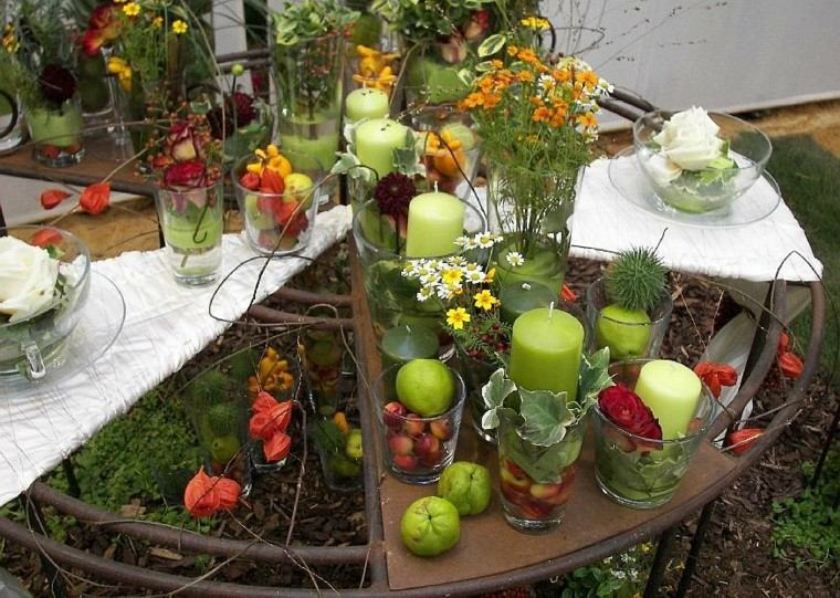 ideas de decoracion mesa jardin
