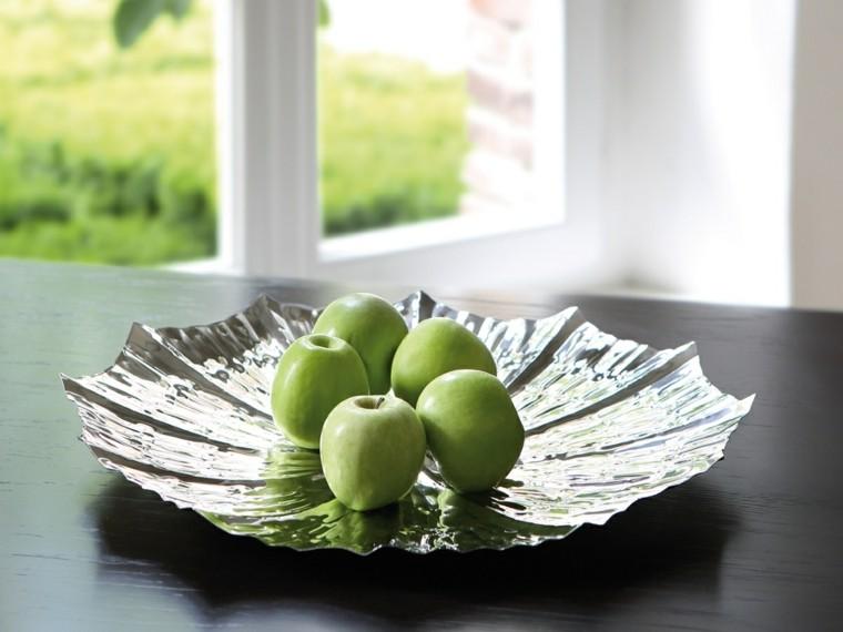 ideas de deocoracion plato verde