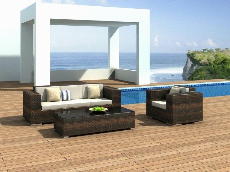 ideas decoracion estilo terraza minimalista