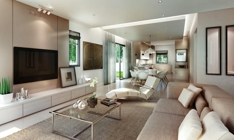 Ideas decoracion salones y 50 propuestas estupendas - Salon de estar decoracion ...
