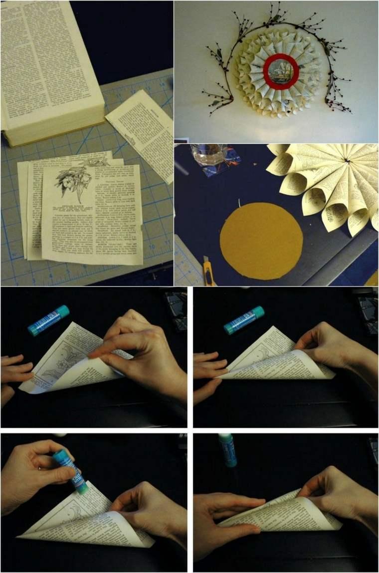 indicaciones papel amarillo goma pasos