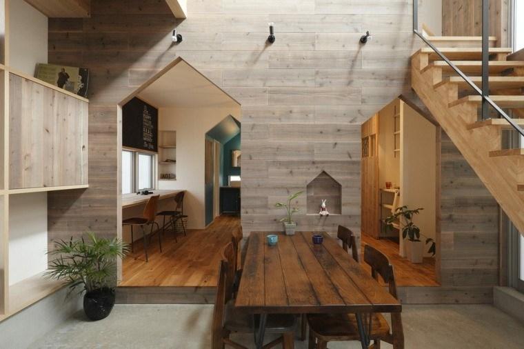 interiores modernos suelo concreto