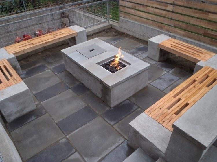 Excepcional Fuego Hoyo Muebles De Jardín Inspiración - Muebles Para ...