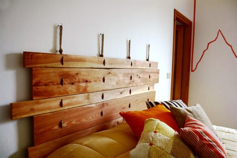 laminas madera cabecero casero listones
