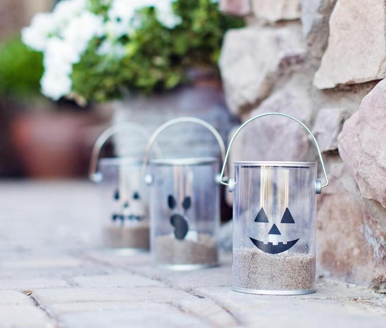 latas caras exteriores jardines rocas