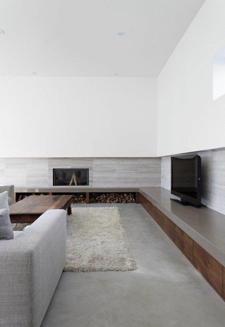 leña ideas estetica mesa minimalista