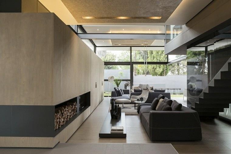 leña ideas estetica minimalista moderno