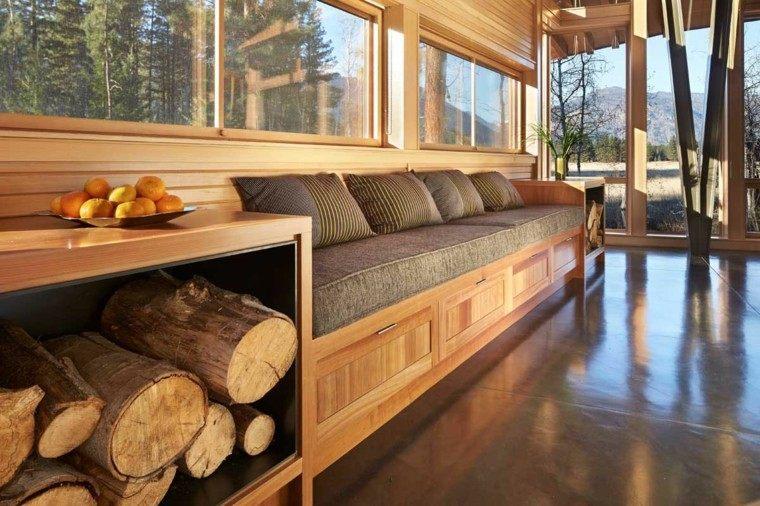 leña ideas estetica sofa mueble