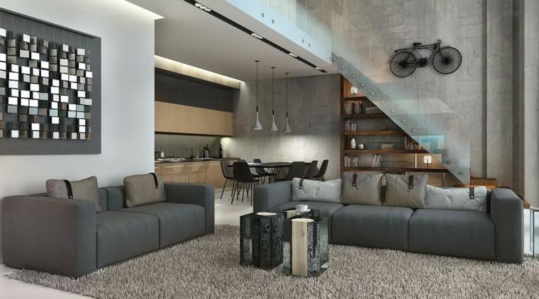 Estudios y apartamentos tipo loft de dise o moderno for Decorar un loft de 50 metros