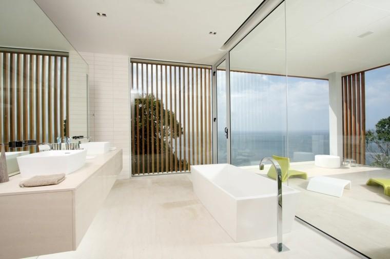 lujo baño decoracion estilo listones