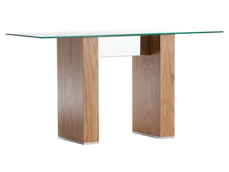 madera base elegante natural cristal