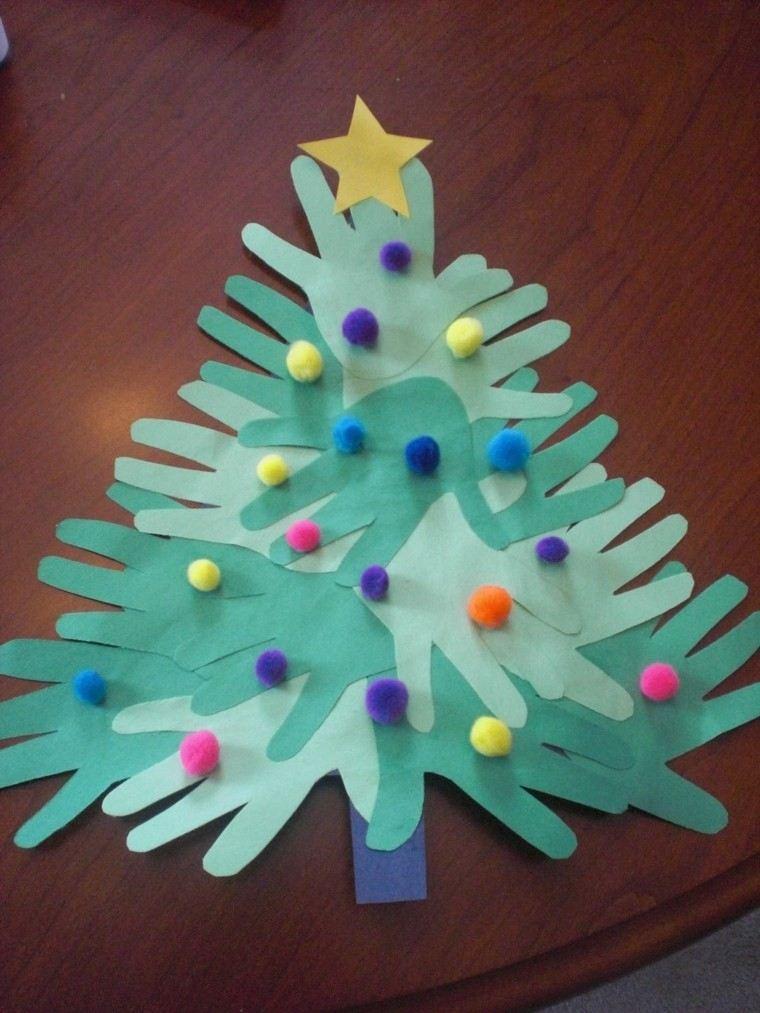 Manualidades de navidad para ni os 50 ideas originales - Ideas para decorar estrellas de navidad ...