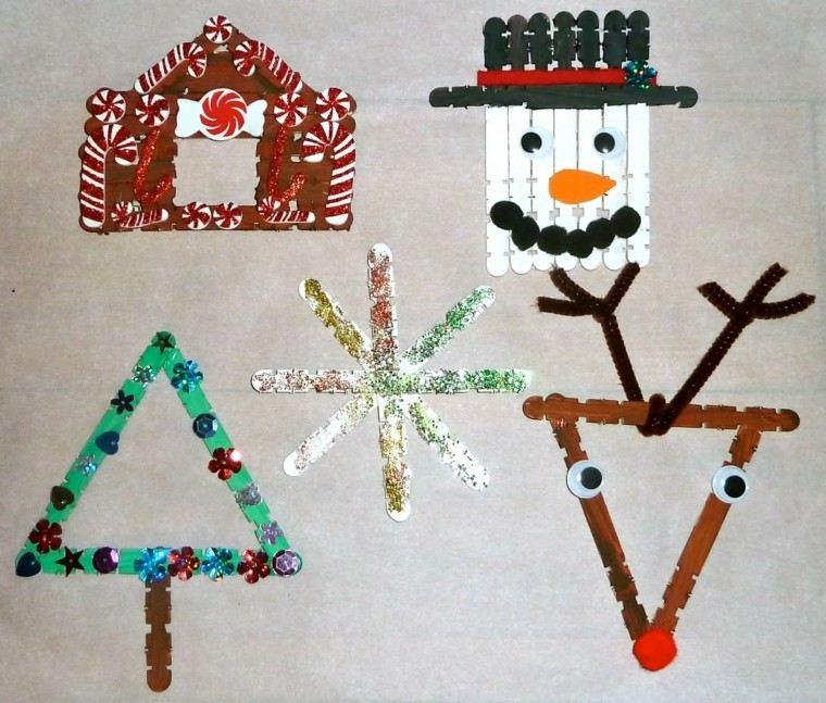 Manualidades Para Decorar El Arbol De Navidad Ni Ef Bf Bdos