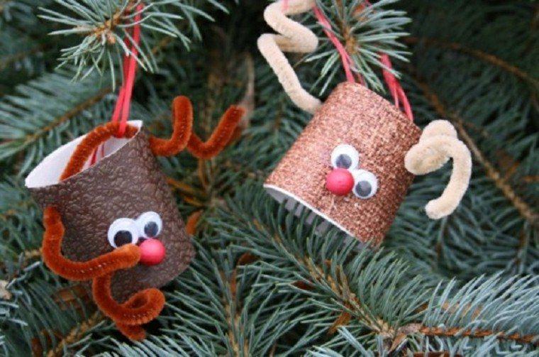 manualidades de navidad para niños detalles pino