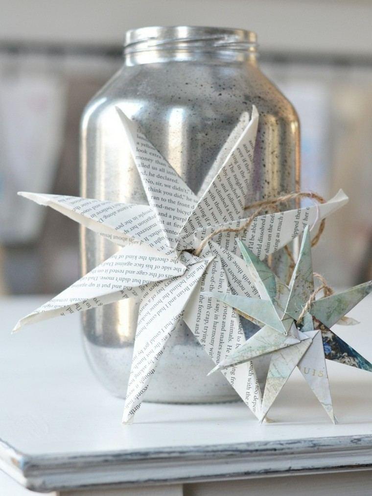manualidades con papel cristal plateado diy